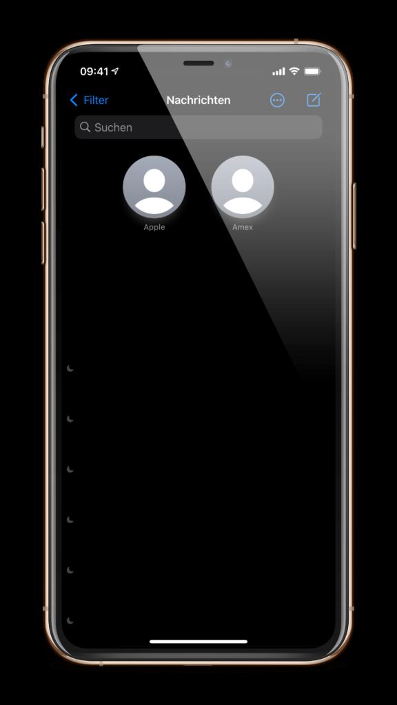 iOS 14 iMessage