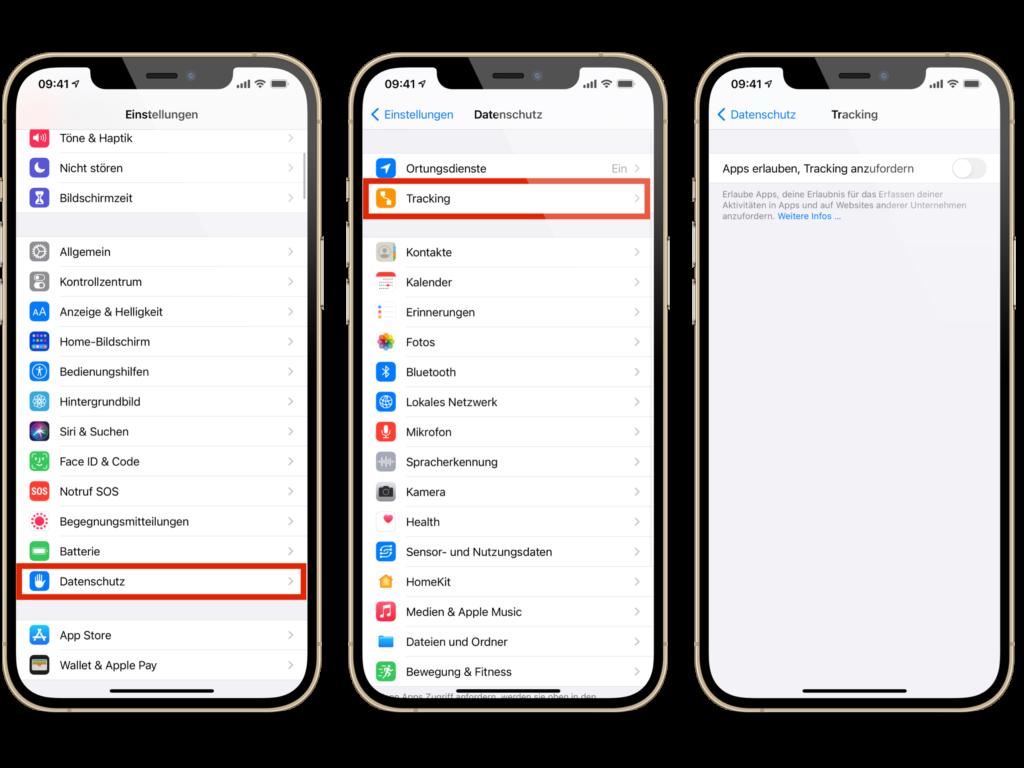 iOS 14.5 Datenschutz