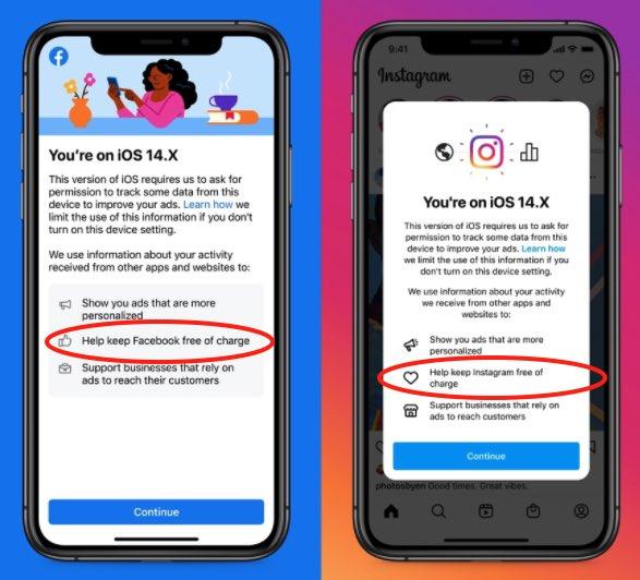 Facebook iOS 14.5 ATT
