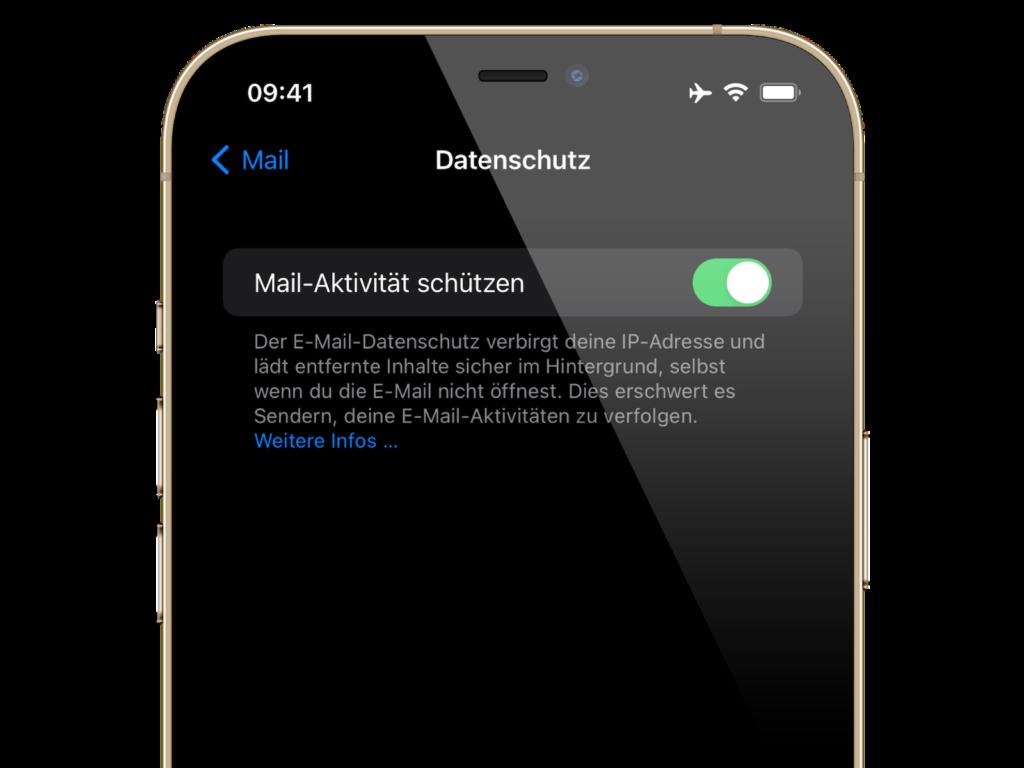 iOS 15 & macOS Monterey Mail Datenschutz