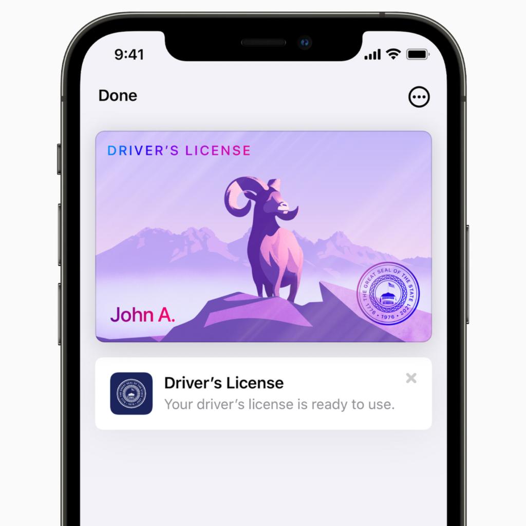 iOS 15 Wallet App