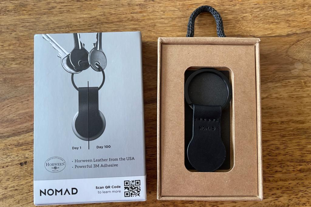 Nomad AirTag Leather Loop im Test