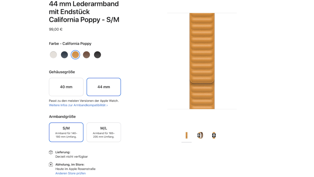 Screenshot via apple.de