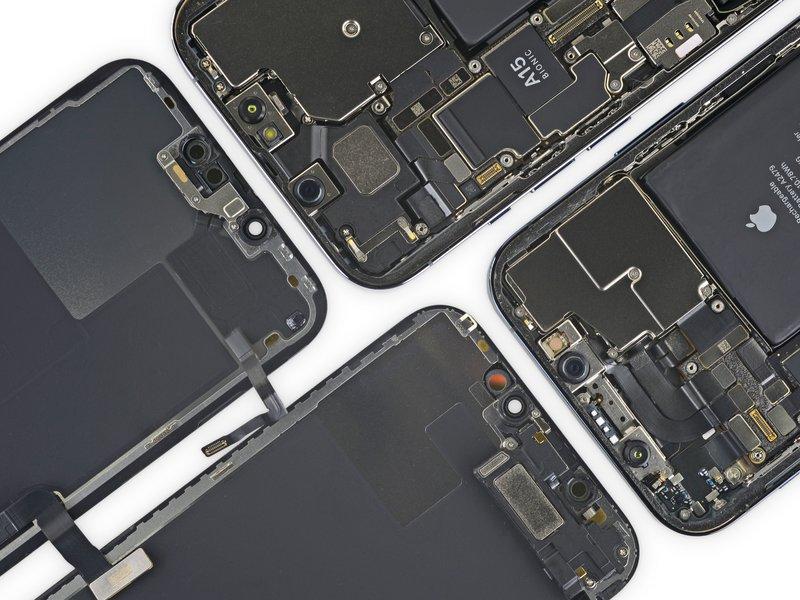Bild: iFixit - iPhone 13 Pro Teardown
