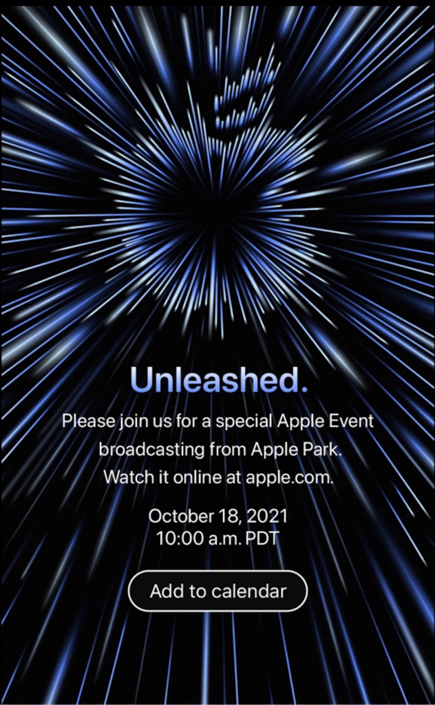 """""""Unleashed"""" Apple Event"""